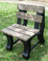 Cadeira de Jardim 01 lugar, cor madeira